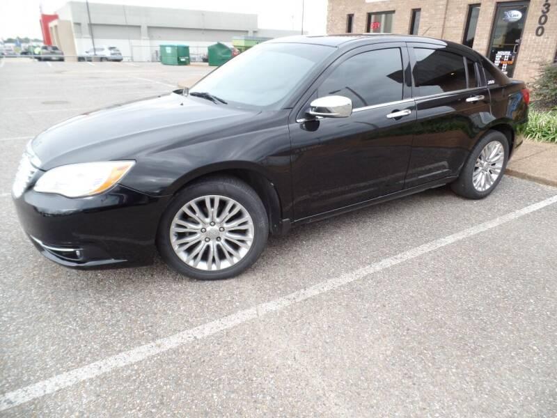 2012 Chrysler 200 for sale at Flywheel Motors, llc. in Olive Branch MS