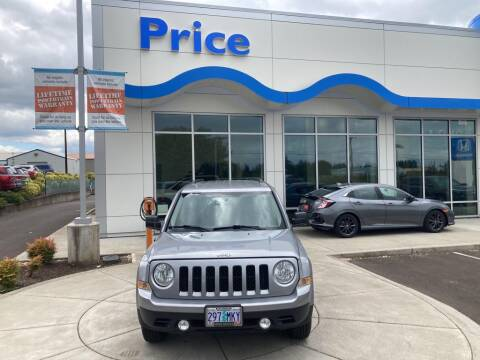 2016 Jeep Patriot for sale at Price Honda in McMinnville in Mcminnville OR