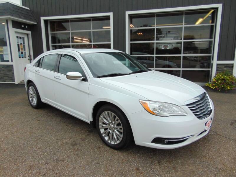 2012 Chrysler 200 for sale at Akron Auto Sales in Akron OH