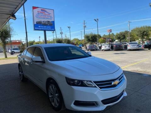 2018 Chevrolet Impala for sale at Magic Auto Sales in Dallas TX