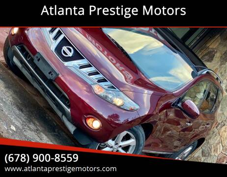 2010 Nissan Murano for sale at Atlanta Prestige Motors in Decatur GA