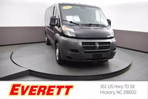 2014 RAM ProMaster Cargo for sale at Everett Chevrolet Buick GMC in Hickory NC