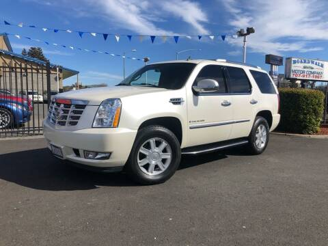 2007 Cadillac Escalade for sale at BOARDWALK MOTOR COMPANY in Fairfield CA