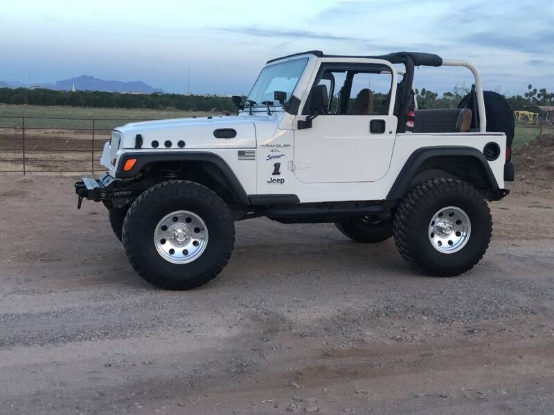 1997 Jeep Wrangler for sale at Scottsdale Collector Car Sales in Tempe AZ