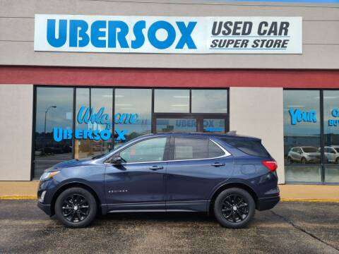 2018 Chevrolet Equinox for sale at Ubersox Used Car Superstore in Monroe WI