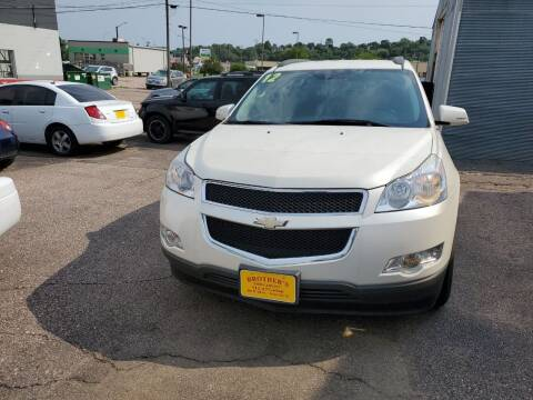 2012 Chevrolet Traverse for sale at Brothers Used Cars Inc in Sioux City IA