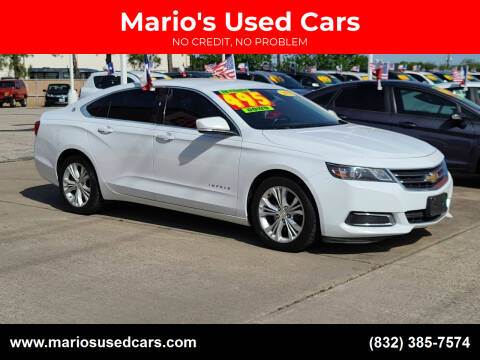2015 Chevrolet Impala for sale at Mario's Used Cars in Houston TX