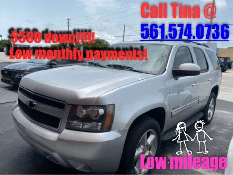2011 Chevrolet Tahoe for sale at Car Girl 101 in Oakland Park FL