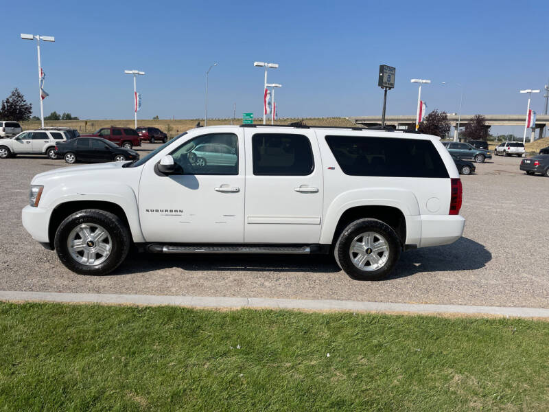 2012 Chevrolet Suburban for sale at GILES & JOHNSON AUTOMART in Idaho Falls ID