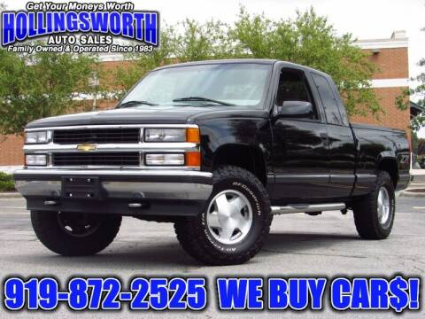 1997 Chevrolet C/K 1500 Series for sale at Hollingsworth Auto Sales in Raleigh NC