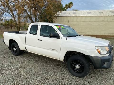 2012 Toyota Tacoma for sale at Quintero's Auto Sales in Vacaville CA
