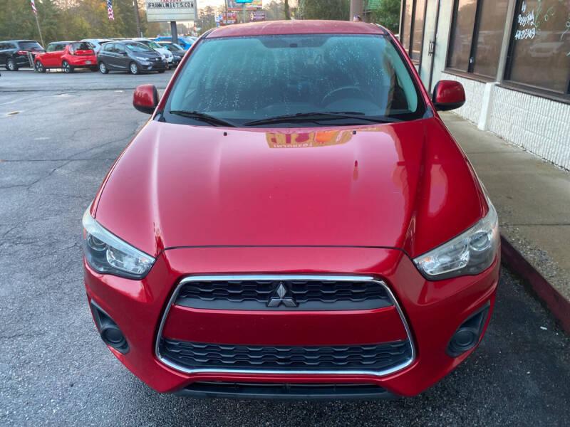2015 Mitsubishi Outlander Sport for sale at J Franklin Auto Sales in Macon GA
