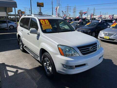2008 Lexus GX 470 for sale at Texas 1 Auto Finance in Kemah TX