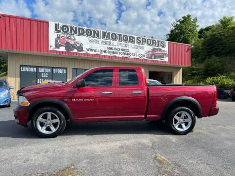 2012 RAM Ram Pickup 1500 for sale at London Motor Sports, LLC in London KY