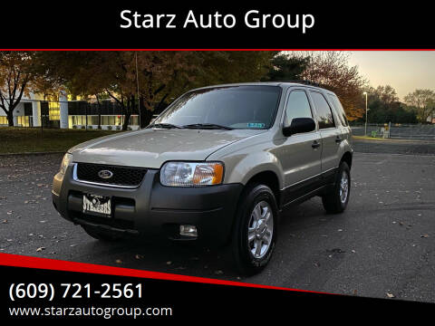 2003 Ford Escape for sale at Starz Auto Group in Delran NJ