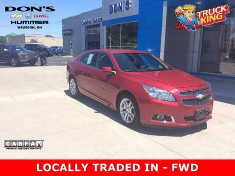 2013 Chevrolet Malibu for sale at DON'S CHEVY, BUICK-GMC & CADILLAC in Wauseon OH