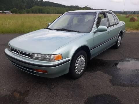 1992 Honda Accord for sale at State Street Auto Sales in Centralia WA
