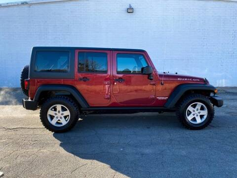 2012 Jeep Wrangler Unlimited for sale at Smart Chevrolet in Madison NC