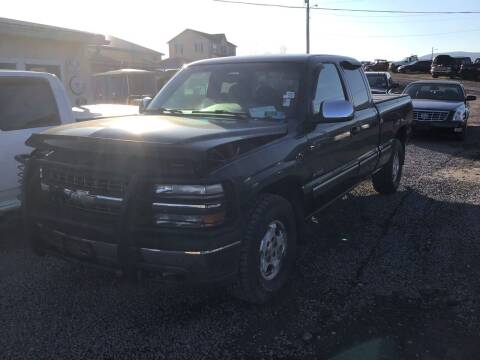2002 Chevrolet Silverado 1500 for sale at Troys Auto Sales in Dornsife PA