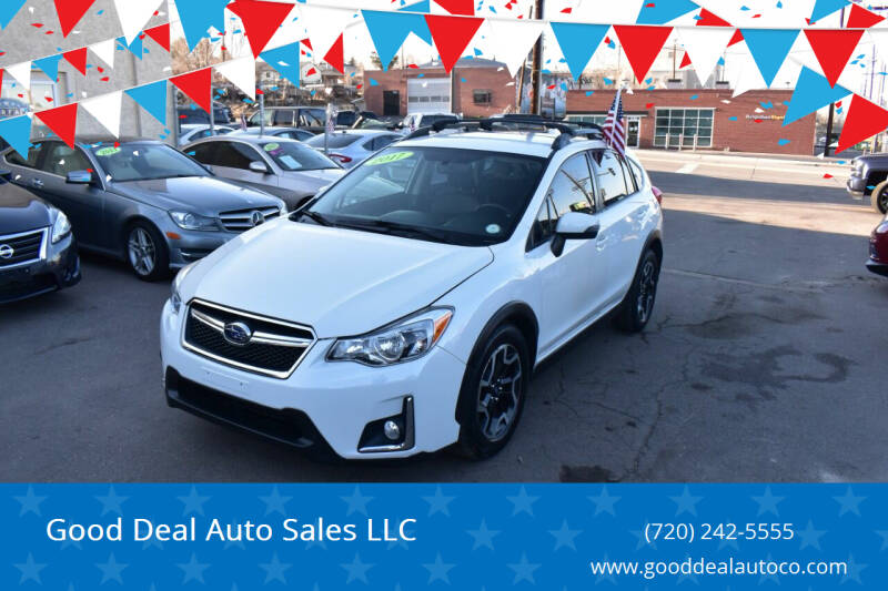 2017 Subaru Crosstrek for sale at Good Deal Auto Sales LLC in Denver CO
