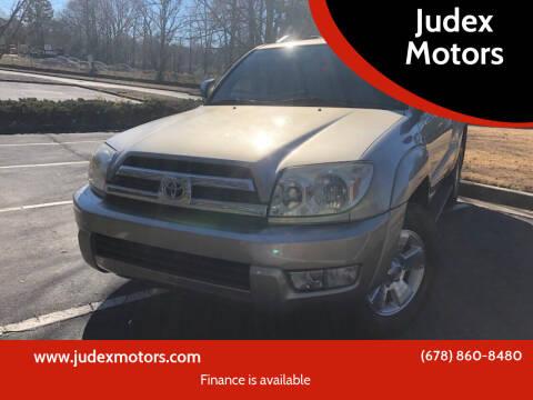 2005 Toyota 4Runner for sale at Judex Motors in Loganville GA