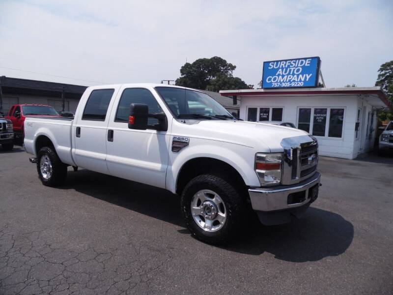 2010 Ford F-250 Super Duty for sale at Surfside Auto Company in Norfolk VA