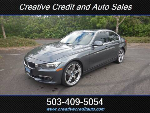 2012 BMW 3 Series for sale at Creative Credit & Auto Sales in Salem OR