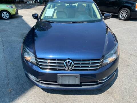 2014 Volkswagen Passat for sale at J Franklin Auto Sales in Macon GA