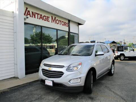 2017 Chevrolet Equinox for sale at Vantage Motors LLC in Raytown MO