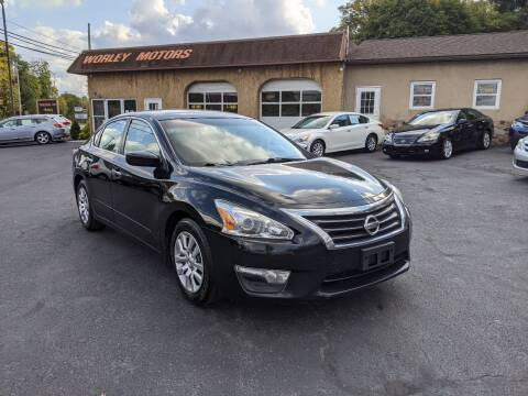 2015 Nissan Altima for sale at Worley Motors in Enola PA