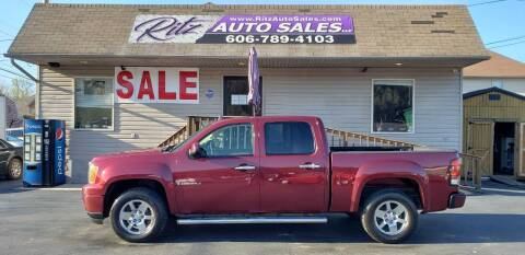 2009 GMC Sierra 1500 for sale at Ritz Auto Sales, LLC in Paintsville KY