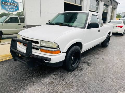 2002 Chevrolet S-10 for sale at AUTO PLUG in Jacksonville FL
