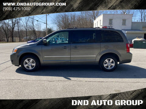2010 Dodge Grand Caravan for sale at DND AUTO GROUP in Belvidere NJ