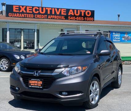 2016 Honda HR-V for sale at Executive Auto in Winchester VA