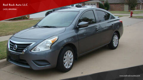 2016 Nissan Versa for sale at Red Rock Auto LLC in Oklahoma City OK