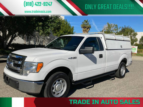 2014 Ford F-150 for sale at Trade In Auto Sales in Van Nuys CA