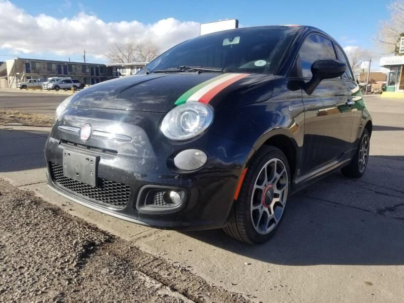 2012 FIAT 500 for sale at Alpine Motors LLC in Laramie WY