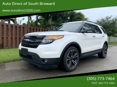 2014 Ford Explorer for sale at Auto Direct of South Broward in Miramar FL