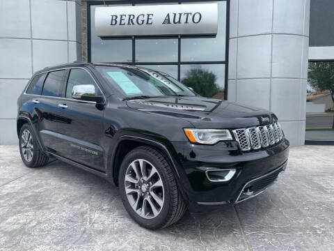 2018 Jeep Grand Cherokee for sale at Berge Auto in Orem UT