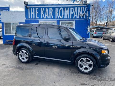 2007 Honda Element for sale at The Kar Kompany Inc. in Denver CO