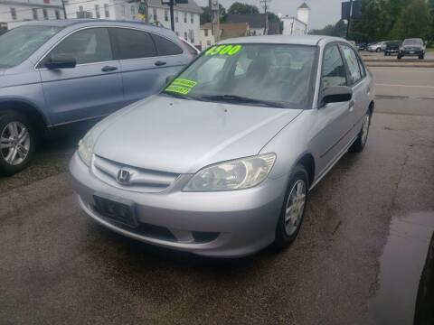 2004 Honda Civic for sale at TC Auto Repair and Sales Inc in Abington MA