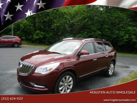 2015 Buick Enclave for sale at HOGSTEN AUTO WHOLESALE in Ocala FL