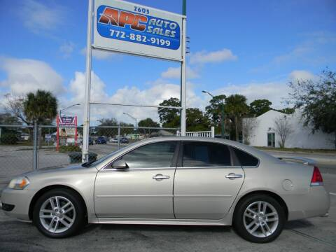 2012 Chevrolet Impala for sale at APC Auto Sales in Fort Pierce FL