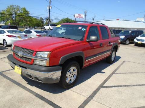 2004 Chevrolet Avalanche for sale at BAS MOTORS in Houston TX