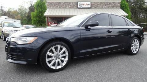 2013 Audi A6 for sale at Driven Pre-Owned in Lenoir NC