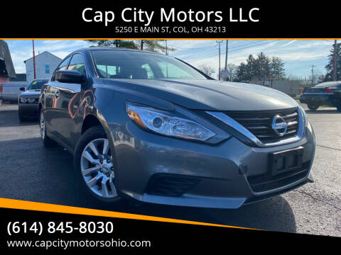 2018 Nissan Altima for sale at Cap City Motors LLC in Columbus OH