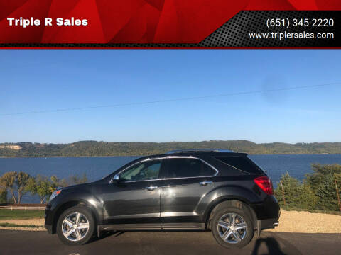 2014 Chevrolet Equinox for sale at Triple R Sales in Lake City MN