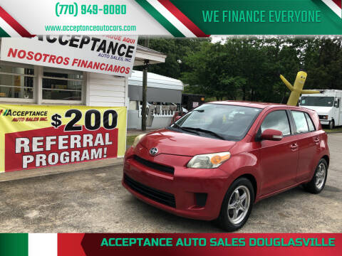 2008 Scion xD for sale at Acceptance Auto Sales Douglasville in Douglasville GA