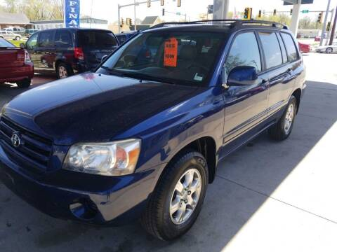 2006 Toyota Highlander for sale at Springfield Select Autos in Springfield IL