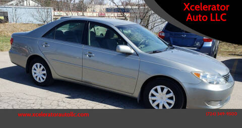 2005 Toyota Camry for sale at Xcelerator Auto LLC in Indiana PA